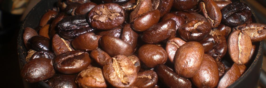 Kaffebønnerne skal males fint til espresso.